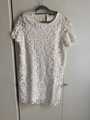 Kleid spitze L 40 weiß