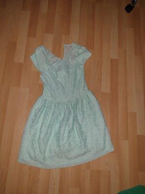 Kleid Spitze Mintgrün