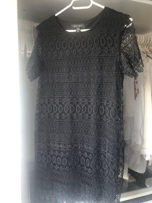 Kleid Spitze schwarz