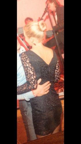 Kleid Spitzenkleid figurbetont