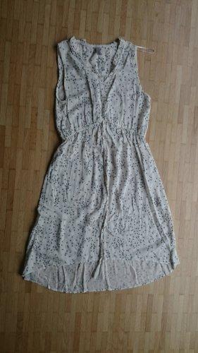 Kleid Strandkleid ärmellos weiß schwarz Pusteblume von Soyaconcept Gr. S