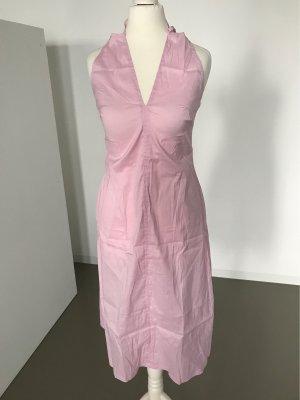 Strenesse Midi Dress light pink cotton