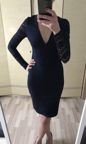Club L Lace Dress dark blue