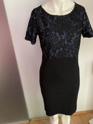 Kleid Stretch Sweatkleid Gr 36 38 S von Free Quent