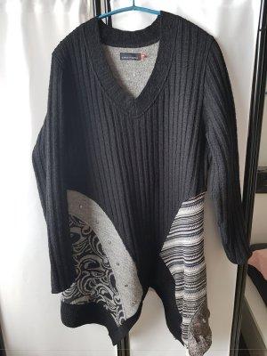 Carla Vestido de lana multicolor
