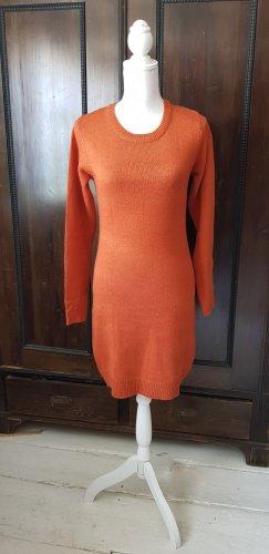 Brave Soul Robe en maille tricotées orange-orange foncé