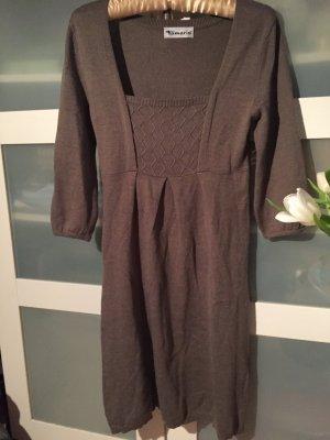 Kleid Strickkleid graubraun Tamaris