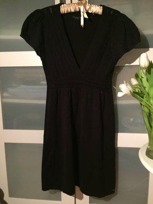 Kleid Strickkleid schwarz s.Oliver