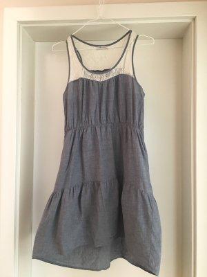 Kleid Stufenkleid Rüschen Volants