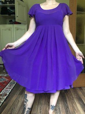 Temperley london Cocktail Dress lilac-dark violet