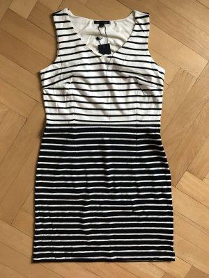 Kleid Tommy Hilfiger blau weiß gestreift Streifen Gr. 4 breite Träger, kurz