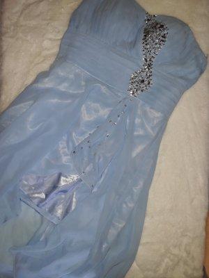 Grace Karin Robe épaules nues bleu clair-bleu clair
