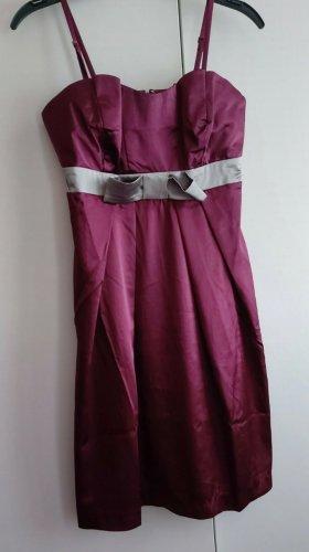 b.p.c. Bonprix Collection Off the shoulder jurk paars
