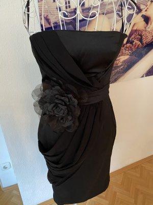 Kleid trägerlos, schwarz, Four Flavor, 38