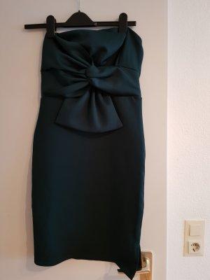 Kleid trägerlos von NEW look dunkelgrün
