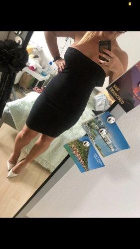 Kleid trägerlos von Warehaus / Minikleid / Bandeukleid
