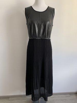 Kleid transparent Kunstleder