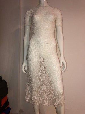 Kleid transparent Zara