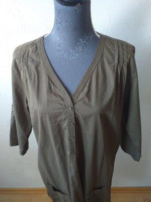 Hunkemöller Tunic Dress taupe-grey brown cotton