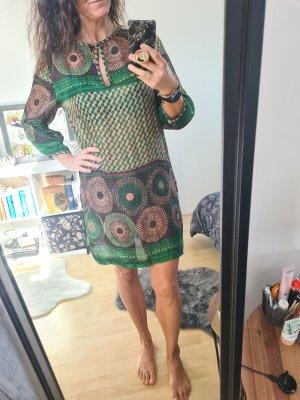 Gudrun Sjöden Tunic Dress cognac-coloured