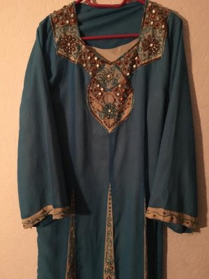 ohne Etikett Sukienka tunika jasnoniebieski