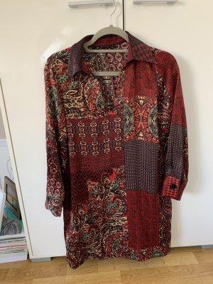 Zara Babydoll Dress carmine-red