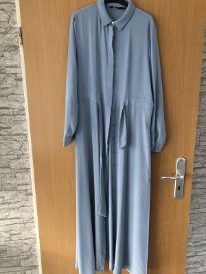Robe tunique bleu azur