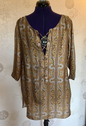 Kleid/Tunika mit Paisley-Muster
