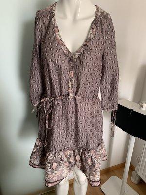 Kleid Tunika mit Volant Gr 36 S von H&M