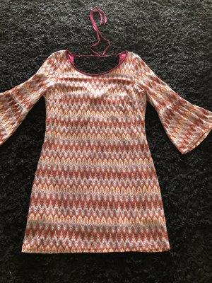 Kleid Tunika Muster wie Missoni