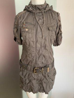 Kleid Tunika Überzieher mit Kapuze Gr 36 S von EDC by Esprit