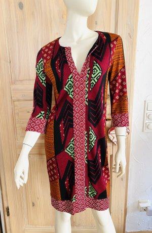 Diane von Fürstenberg Robe tunique multicolore