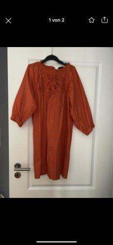 Kleid, TuniKa, Zara, orange, Größe L, neu mit Etikett