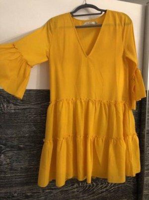 Nakd Robe tunique jaune-jaune primevère