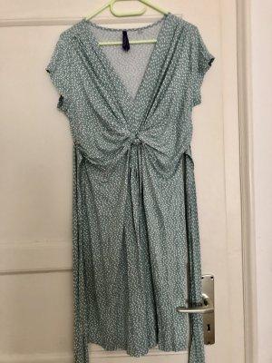 Kleid Umstandskleid Séraphine 40 M L mint Pünktchen Polka dots