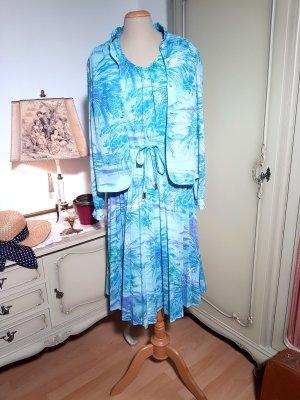 Kleid-und-Bluse-Set aus den 80ern