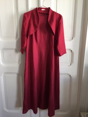 Kleid und Bolerojacke aus 100% Leinen