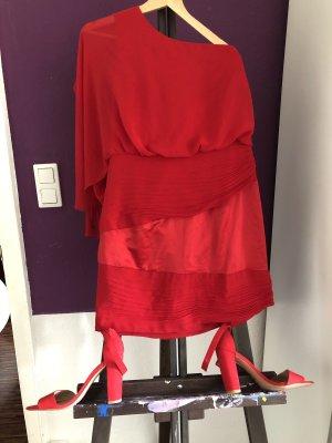 Kleid und Schuhe Set
