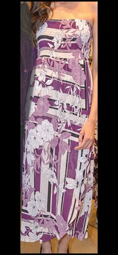 Kleid und Tuch von Bettina Assinger