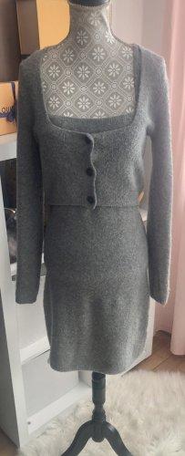 Zara Knitted Twin Set grey