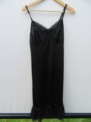 Vintage Fond de robe noir