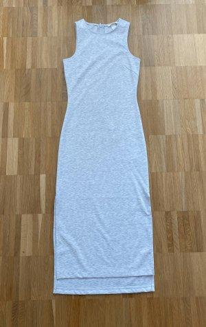 Kleid v. H&M in weiß/grau Gr. XS