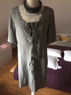 Kleid v les petites..., Seide grau, Gr. 1 (34/36)
