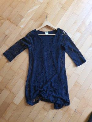 Kleid Vero Moda, mini schwarz mit Spitze