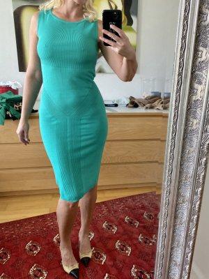 Versace Collection Vestido de tubo turquesa