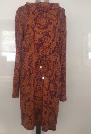 Versace Jeans Vestido tejido bermejo-violeta amarronado