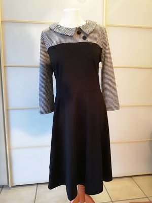Floryday Stretch jurk zwart-wit Polyester