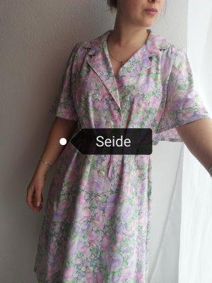 Original Vintage Geklede jurk veelkleurig