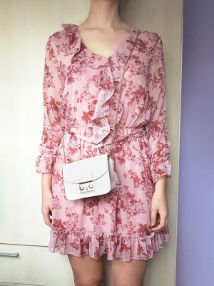 Flounce Dress multicolored polyester