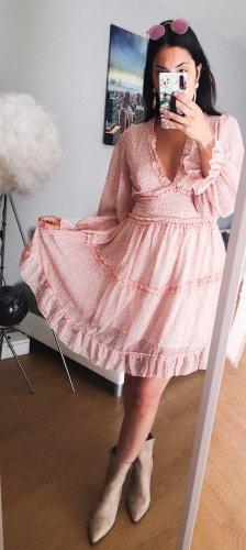 Kleid Volants Rüschen blogger hipster boho